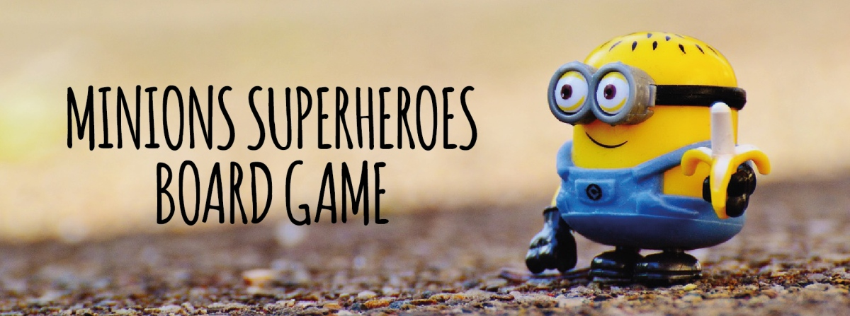 Gra planszowa Minions superheroes