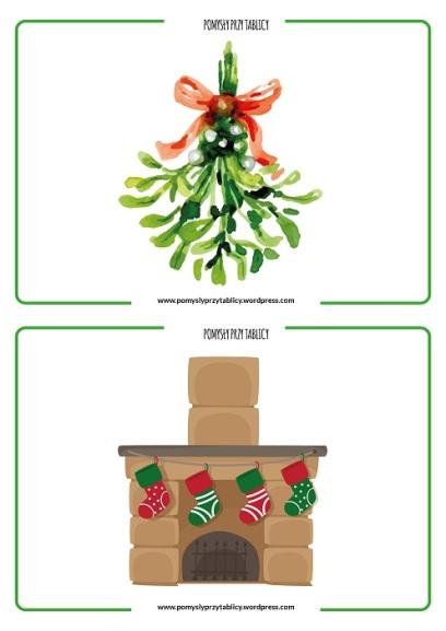 Christmas flashcards II-11