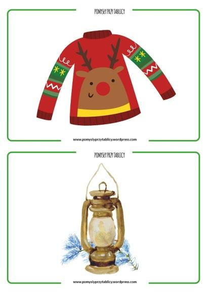 Christmas flashcards II-13