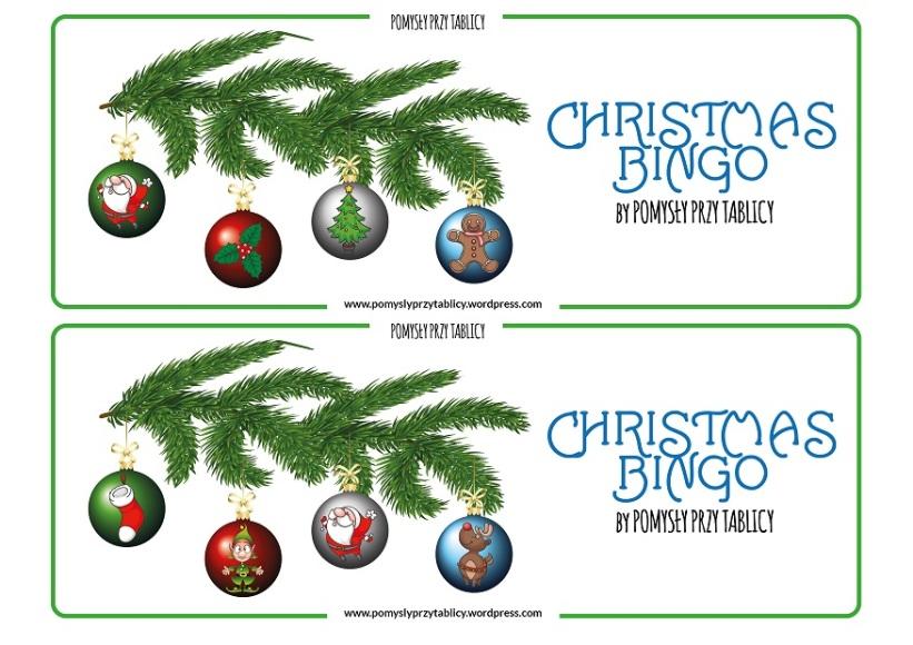 Christmas BINGO Christmas tree-02