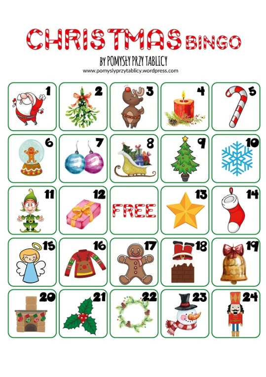 Christmas calendar BINGO-02