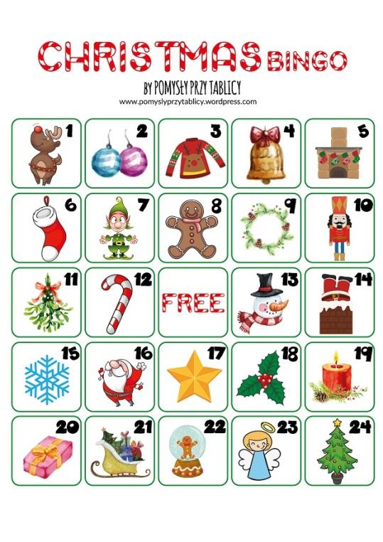 Christmas calendar BINGO-03