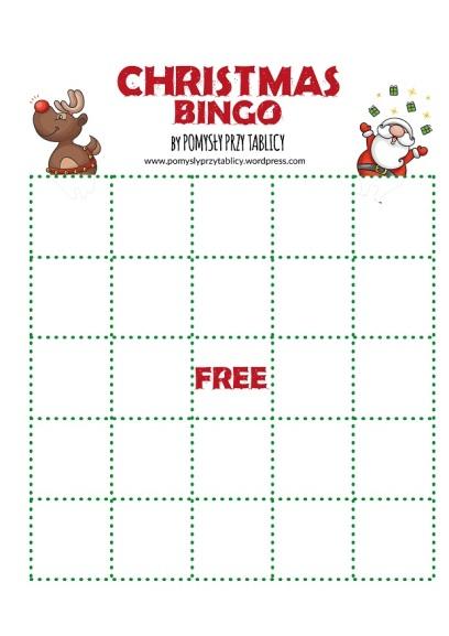 Christmas vocabulary BINGO!-12