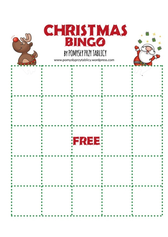 Christmas vocabulary BINGO!-12