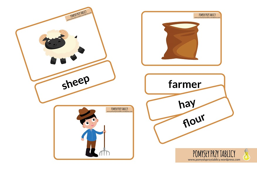 on the farm flashcards-01